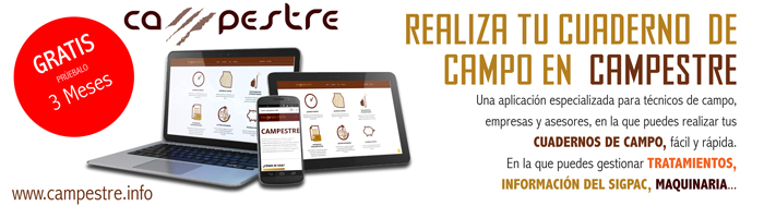 Campestre - Cuadernos de campo online
